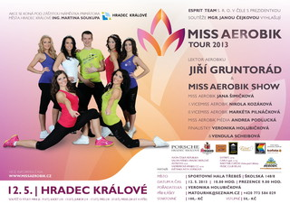 Miss aerobik tour 2013