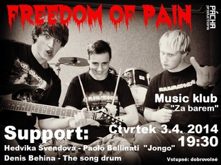 Koncert Freedom Of Pain